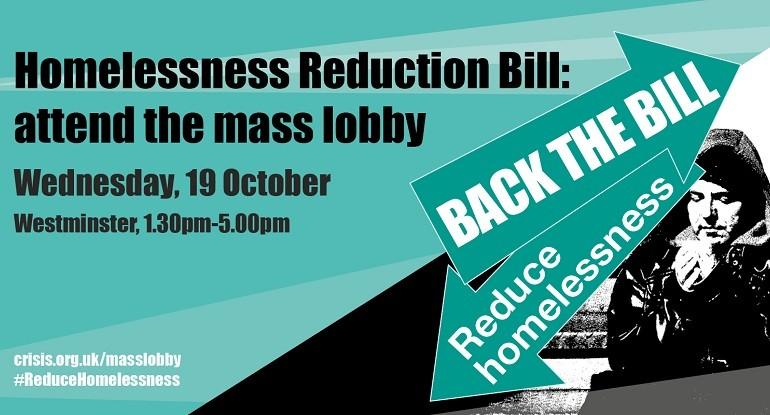 Homelessness reduction bill