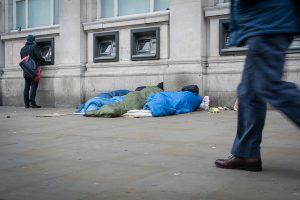 Rough sleeper market st
