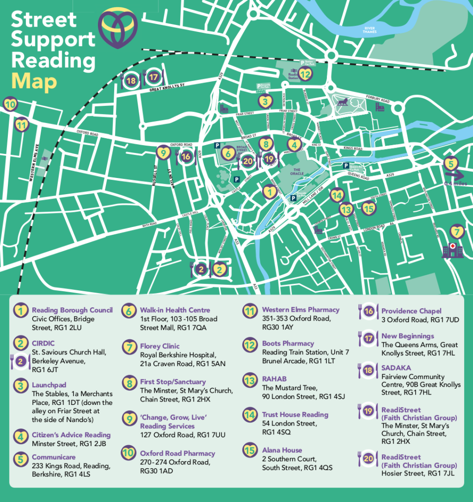 StreetSupport Guide back