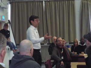 Andy Burnham at GMHAN Meeting April 19