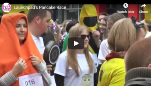 Launchpad Pancake Race